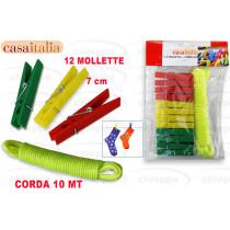 MOLLETTA 12P + CORDA   C112604