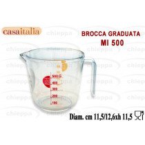 BROCCA GRAD.0,5 PLAST. C113376
