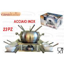 FONDUTA 23PZ INOX    C102257 *