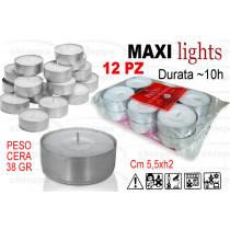LUMINO MAXI 12PZ 10 ORE 121228