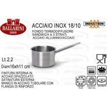 CASSER.16 1M ALTA INOX 922816$