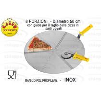 CACCIAPIZZA ROT.50 8PORZ.180/8