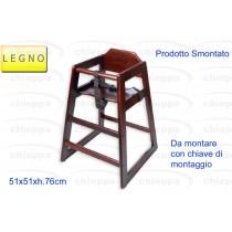 SEGGIOLONE SMONTATO WALNUT 66*