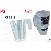 CAPPUC.T.12PZ C15,5 TRASP 5731
