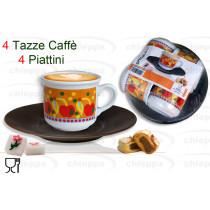 CAFFE'4PZ C/P MOSAICO   NONNA*
