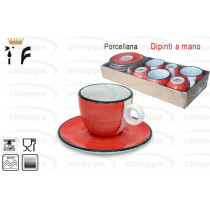 CAFFE'T.C/P BRUSH CORAL.  1080