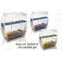 VASO 15 +CAND.GEL CONCH.76004*