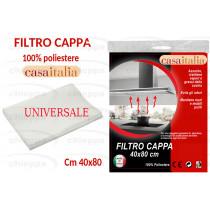 FILTRO 40X80 BIANCO  UNIVERSAL