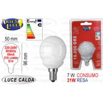 LAMPADINA GLOB.7W/E14 C108322*