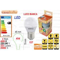 LAMPAD.LED 4W E27 BCA C112914*