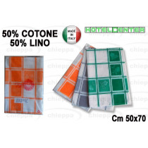 CANOVACCIO 50X70   LINO/COTONE