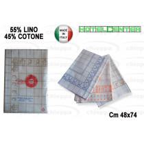 CANOVACCIO 48X72 CUC.LINO/COT.
