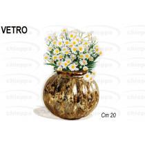 VASO 20 VETRO GOLD  ABT557630*