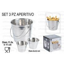 APERITIVO 3PZ INOX   A12405130