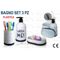 BAGNO SET 3PZ WASH ME 17042991