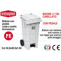 BIDONE 120 C/COP+PED BCO 25707