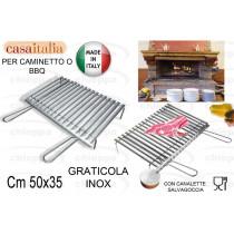 GRATIC.CAM.50X35INOX C106106$*
