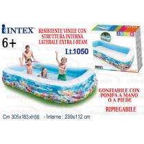 PISCINA 305X183X56 3AN.  58485