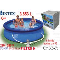 PISCINA 305X76 ROT+P/F.  28122