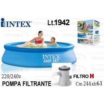PISCINA 244X61 ROT+P/F.  28108