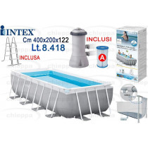 PISCINA 400X200X122 PRIS.26790