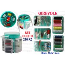 CUCITO SET 210PZ ASSORT.53980*